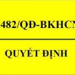 quyet-dinh-3482qd-bkhcn-thay-the-qd-1171qd-bkhcn